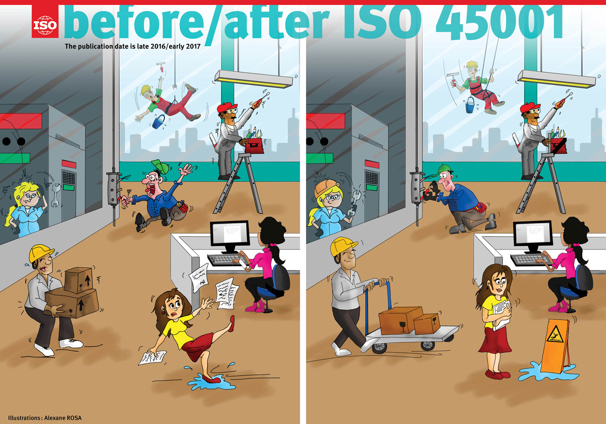 ISO45001 before and after